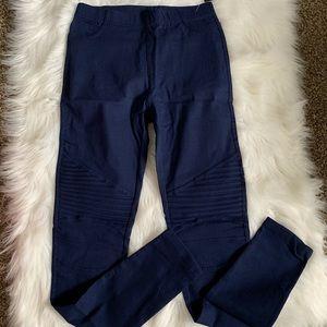 Pants - Moto leggings / Biker leggings